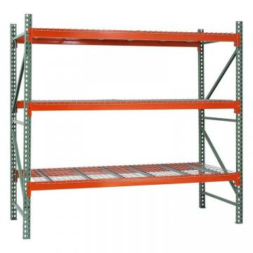 Custom Industrial Warehouse Storage Rack OEM Heavy Duty Chrome Wire Mesh Long Span Metallic Shelving