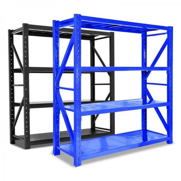 Commercial Wroght Iron Shelf System Warehouse Rack for Sale #2 image