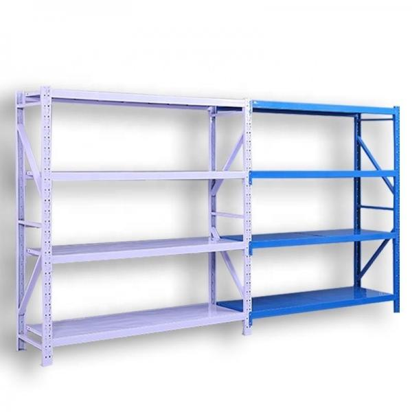 Chrome Commercial 6 Layer Adjustable Steel Wire Shelving Rack #2 image