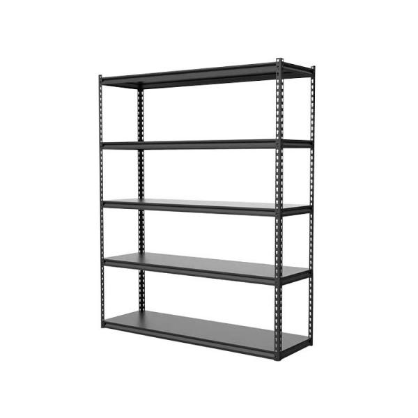 Chrome Commercial 6 Layer Adjustable Steel Wire Shelving Rack #1 image